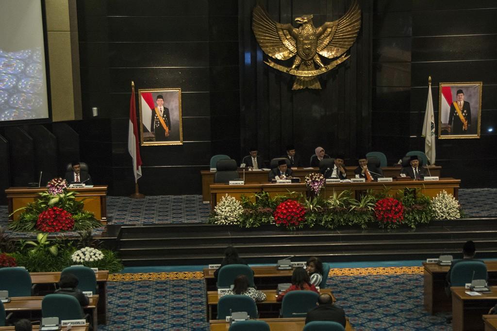 DPRD Gelar Rapat Paripurna Pemberhentian Ahok