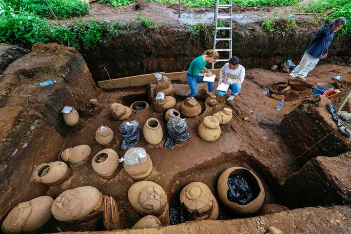 Pekerja Temukan Makam Berusia 1.200 Tahun di Nikaragua