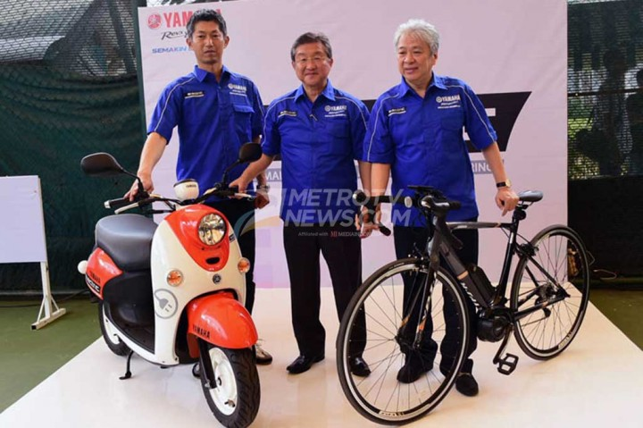Yamaha Tes Pasar Motor Listrik di Indonesia