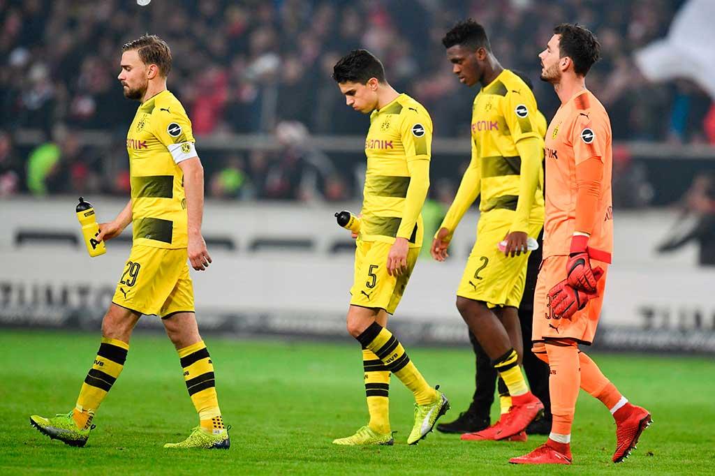 Dortmund Takluk 1-2 dari Stuttgart