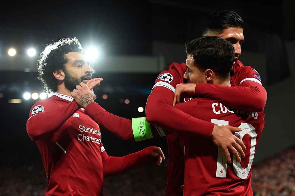Liverpool Lumat Spartak Moskow 7-0