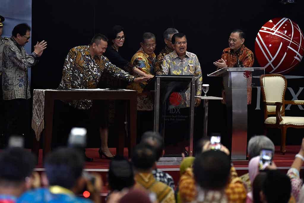 Wapres Buka Perdagangan Saham 2018