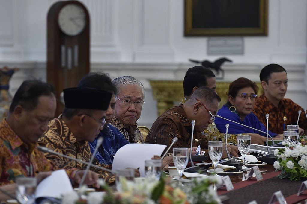 Jokowi Minta Menteri Fokus Investasi dan Perdagangan Luar Negeri