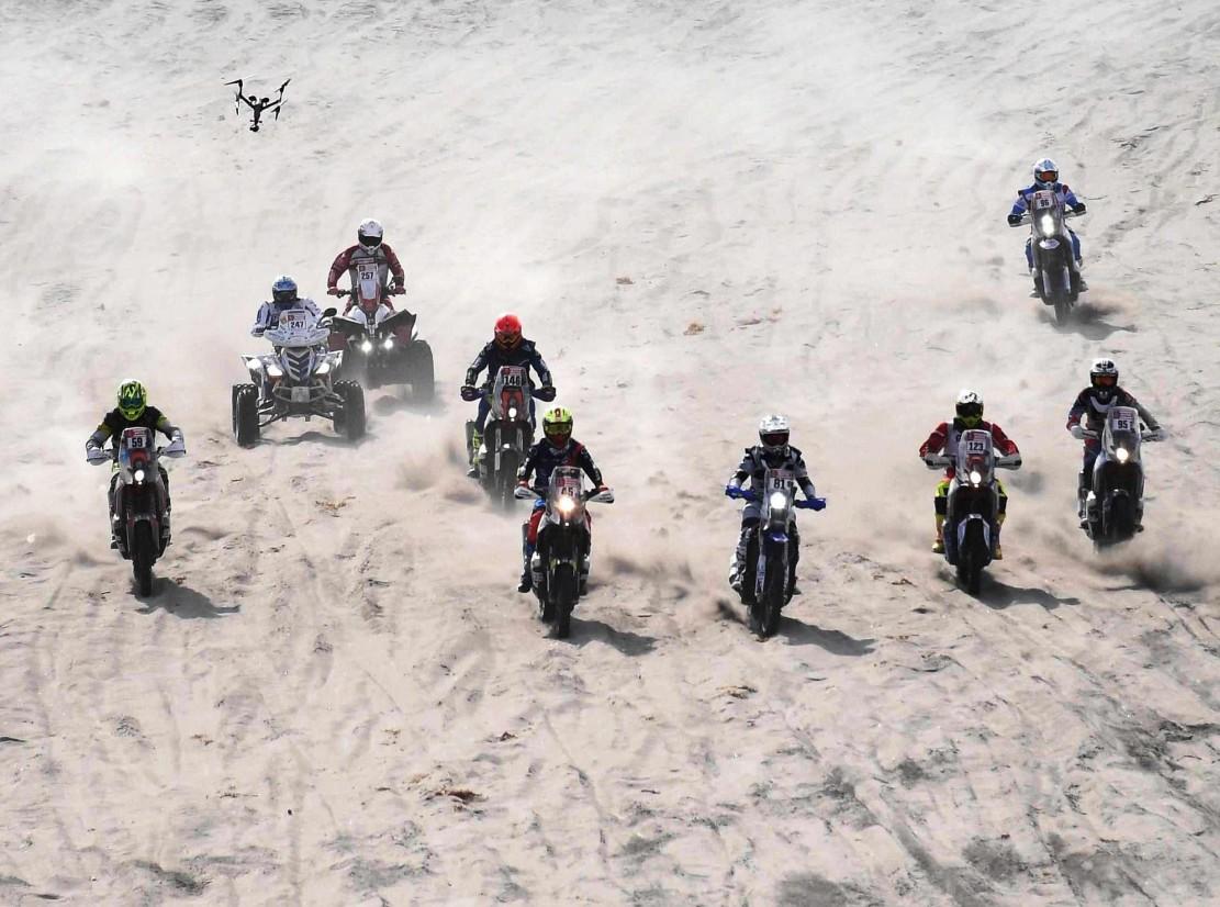 Start dari Benaman Pasir Dakar Rally 2018