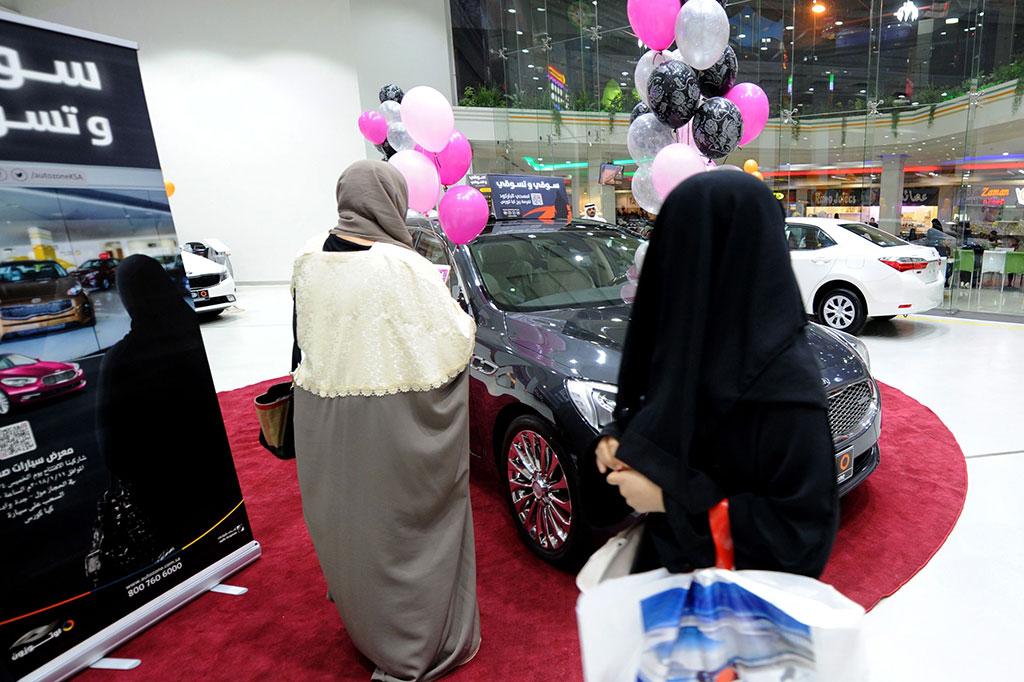 Showroom Mobil Khusus Perempuan Dibuka di Arab Saudi