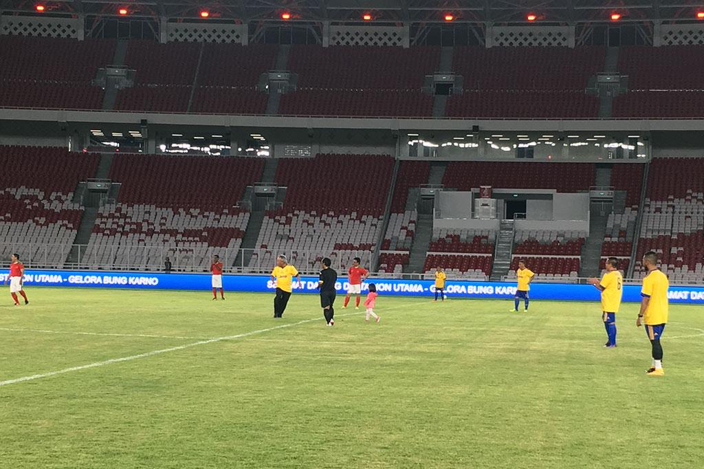 Stadion Utama Gelora Bung Karno Siap 100 Persen