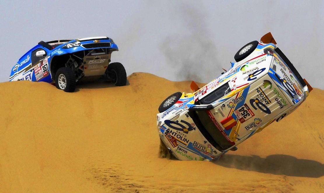 Etape Basah Dakar Rally 2018
