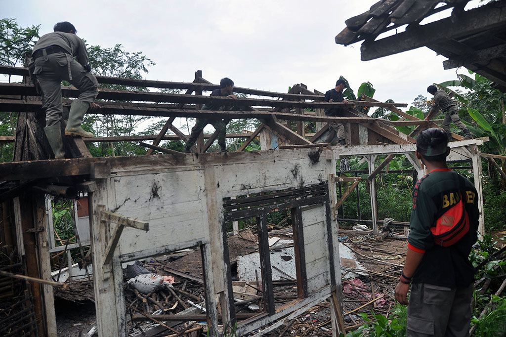 Bencana Tanah Bergerak Terjadi di Banjarnegara