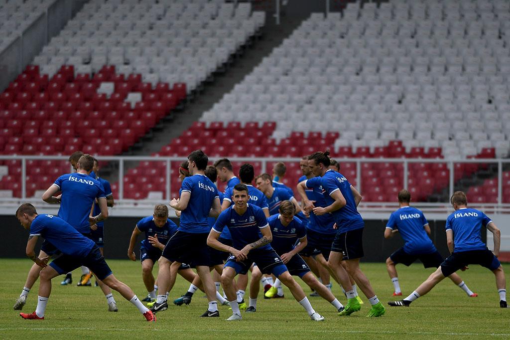 Timnas Islandia Jajal Stadion Utama GBK