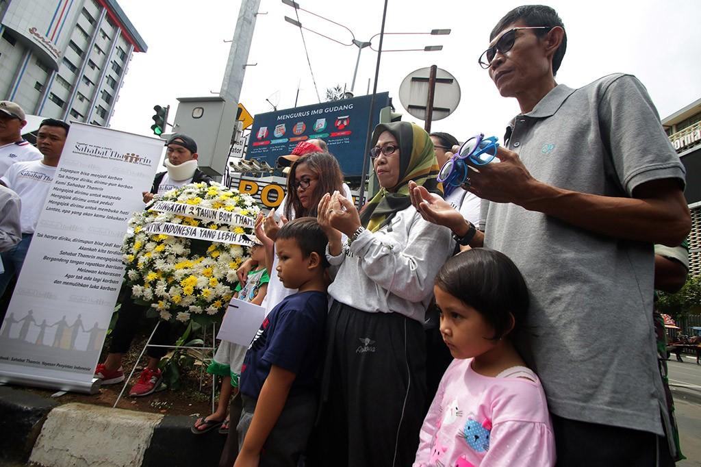 Peringatan Dua Tahun Bom Thamrin