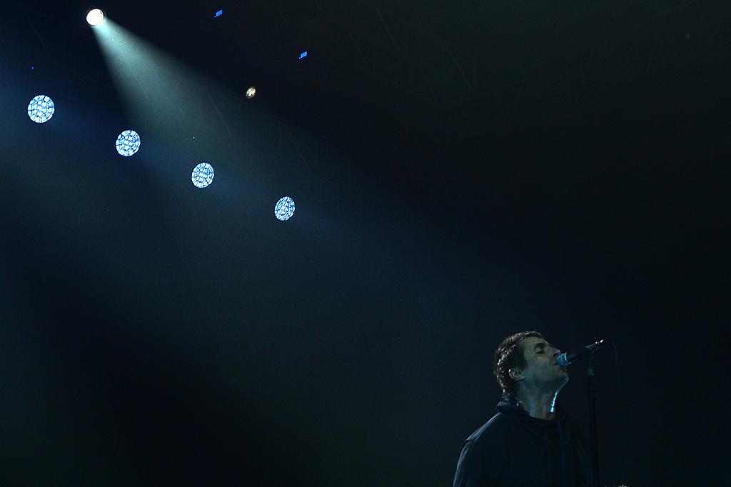 Kemeriahan Konser Liam Gallagher di Jakarta