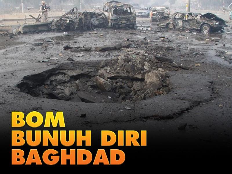 Hari Ini: Bom Bunuh Diri Baghdad