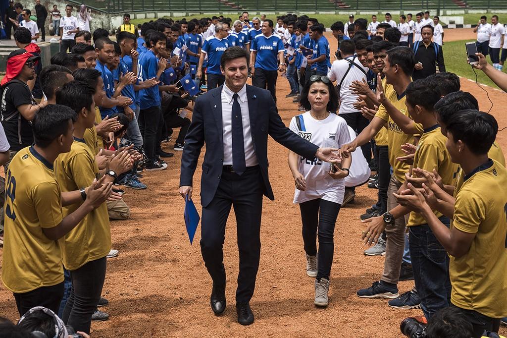 Inter Milan-Persib Buka Inter Academy Indonesia di Bandung