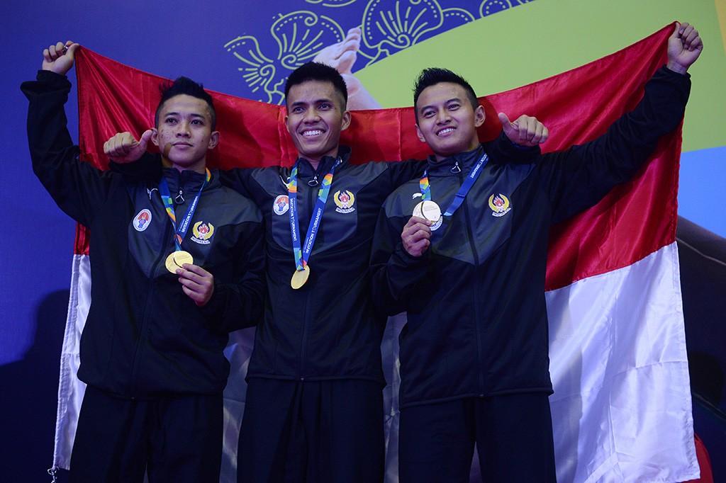 Indonesia Tambah Emas dari Pencak Silat