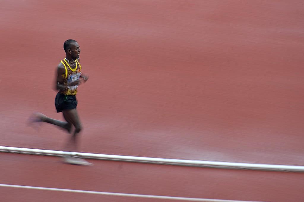 Pelari Sri Lanka Juarai 3 Ribu Meter Halang Rintang