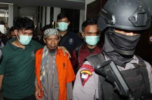 Aman juga disebut sebagai orang yang merencanakan atau menggerakkan orang lain untuk melakukan tindak pidana terorisme.