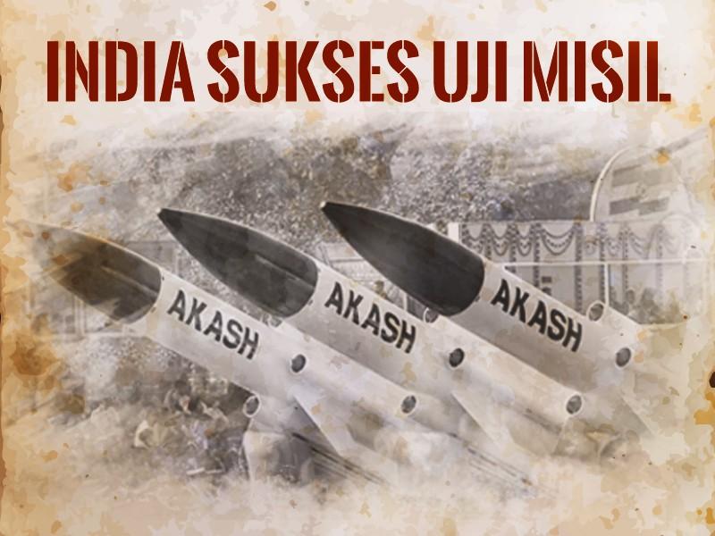 Hari Ini: India Sukses Uji Misil