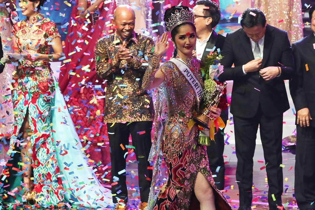 Sonia Fergina Dinobatkan sebagai Putri Indonesia 2018