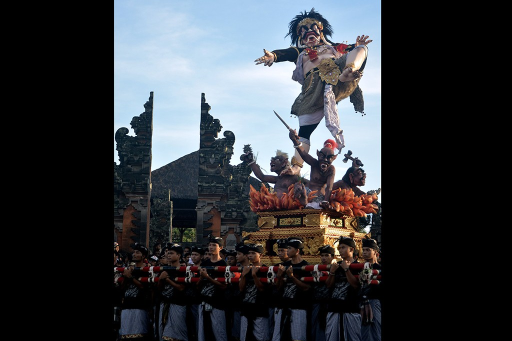 Parade Ogoh-ogoh, Kemeriahan Festival Rakyat Jelang Nyepi