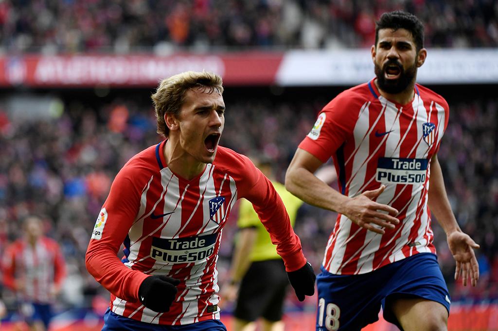 Atletico Madrid Tekuk Celta Vigo 3-0