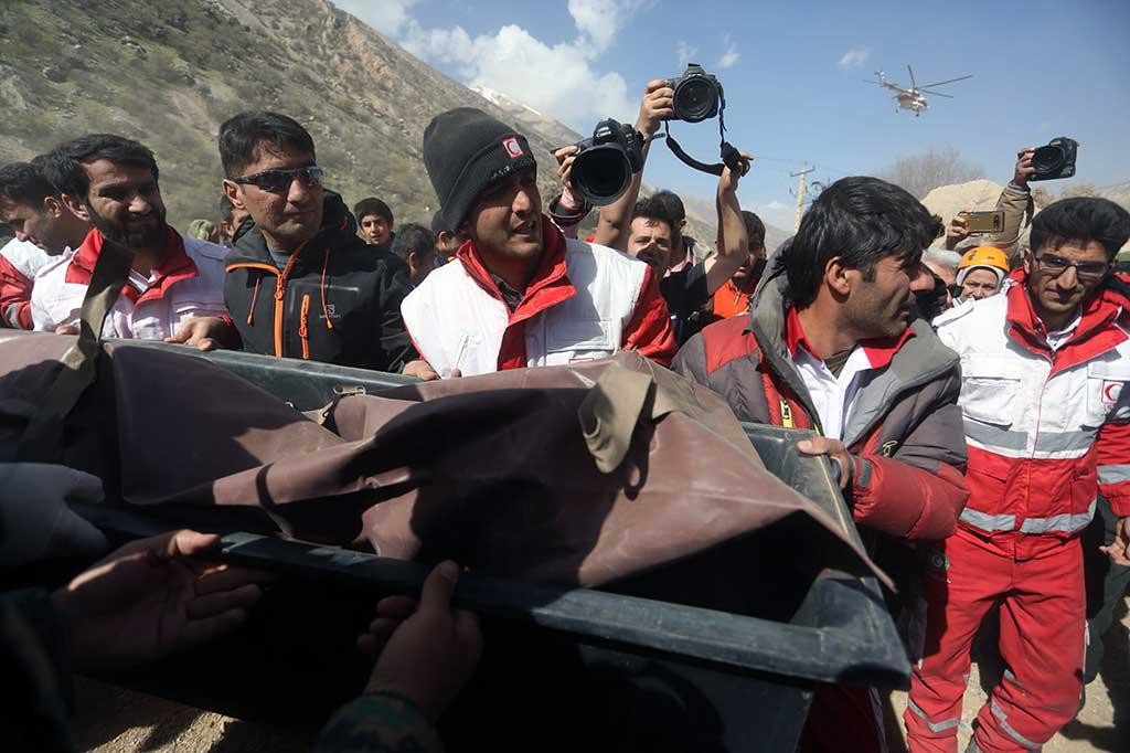 Pesawat Turki Jatuh di Iran, 11 Orang Tewas