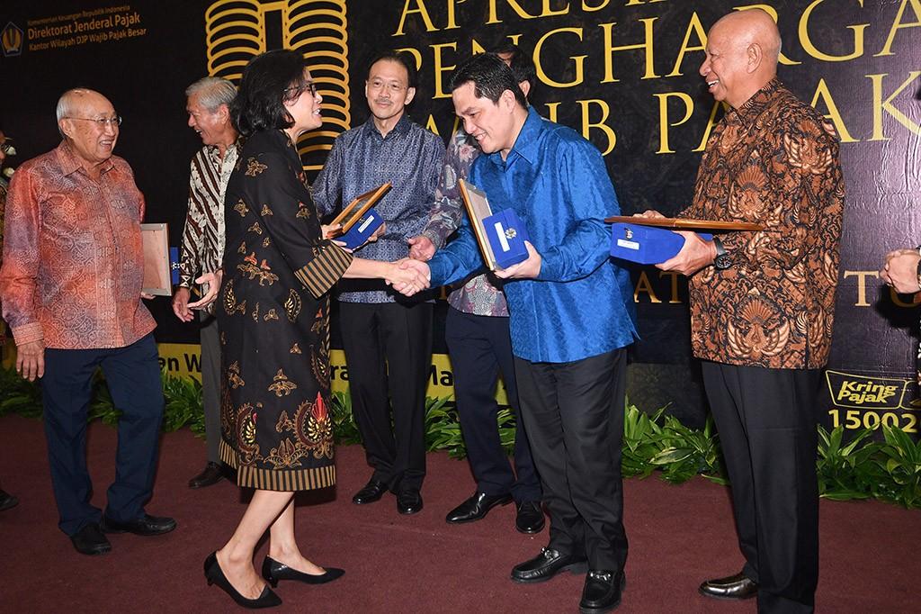 Pemerintah Beri Penghargaan ke 31 Wajib Pajak