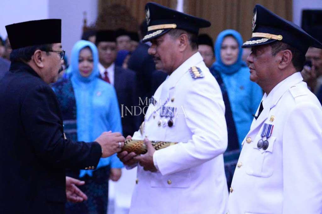Gubernur Jatim Lantik 4 Penjabat Bupati
