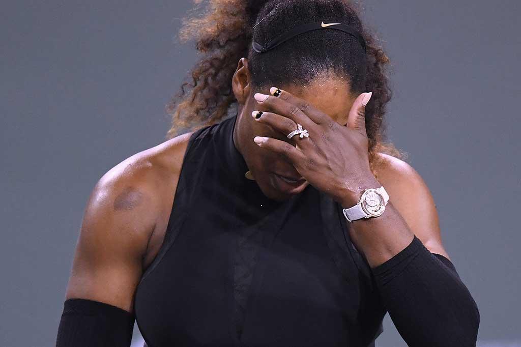 Venus Tundukkan Serena di BNP Paribas Open