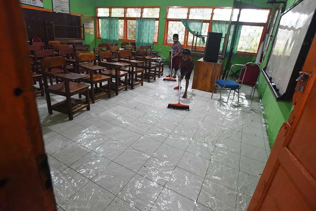 Sejumlah Wilayah di Makassar Terendam Banjir