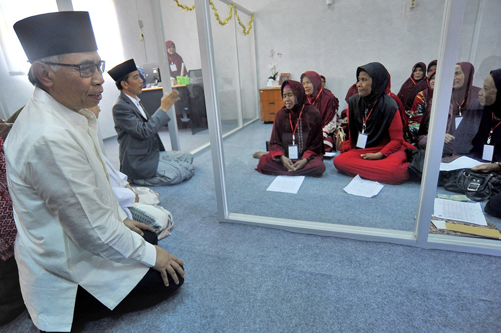 Jokowi Ingin Tiap Ponpes Miliki Bank Wakaf Mikro