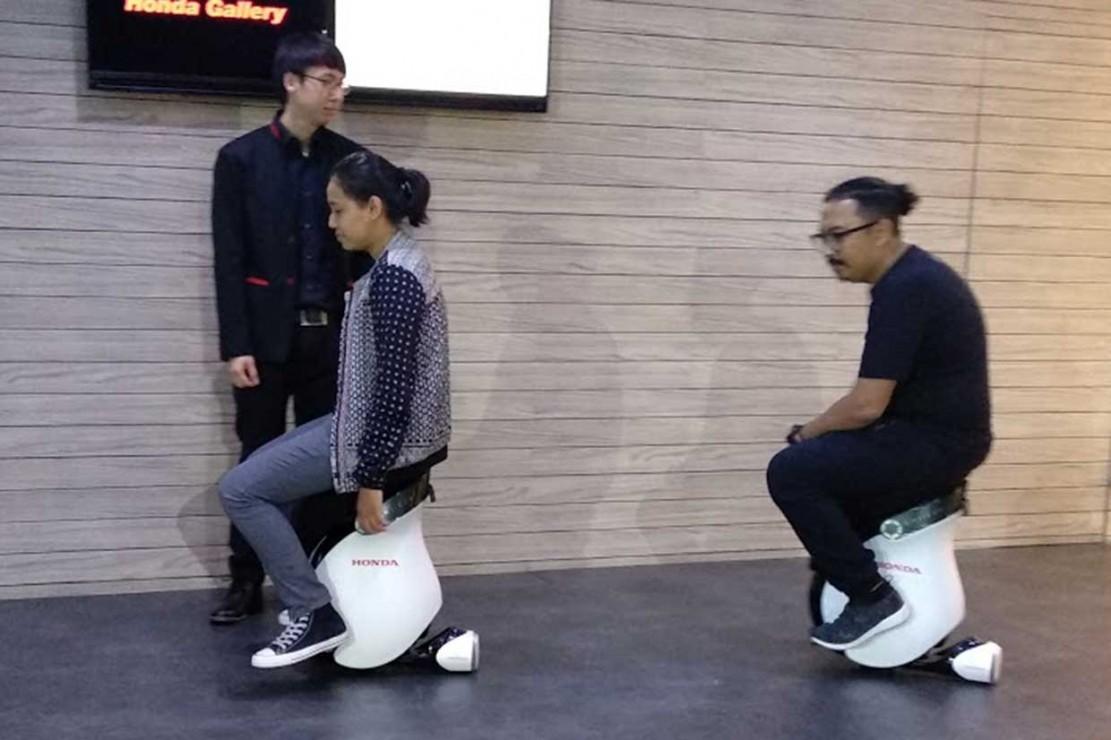 Honda Bikin Galery di Mal