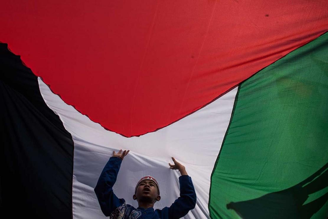 Almubina Gelar Aksi Bela Palestina