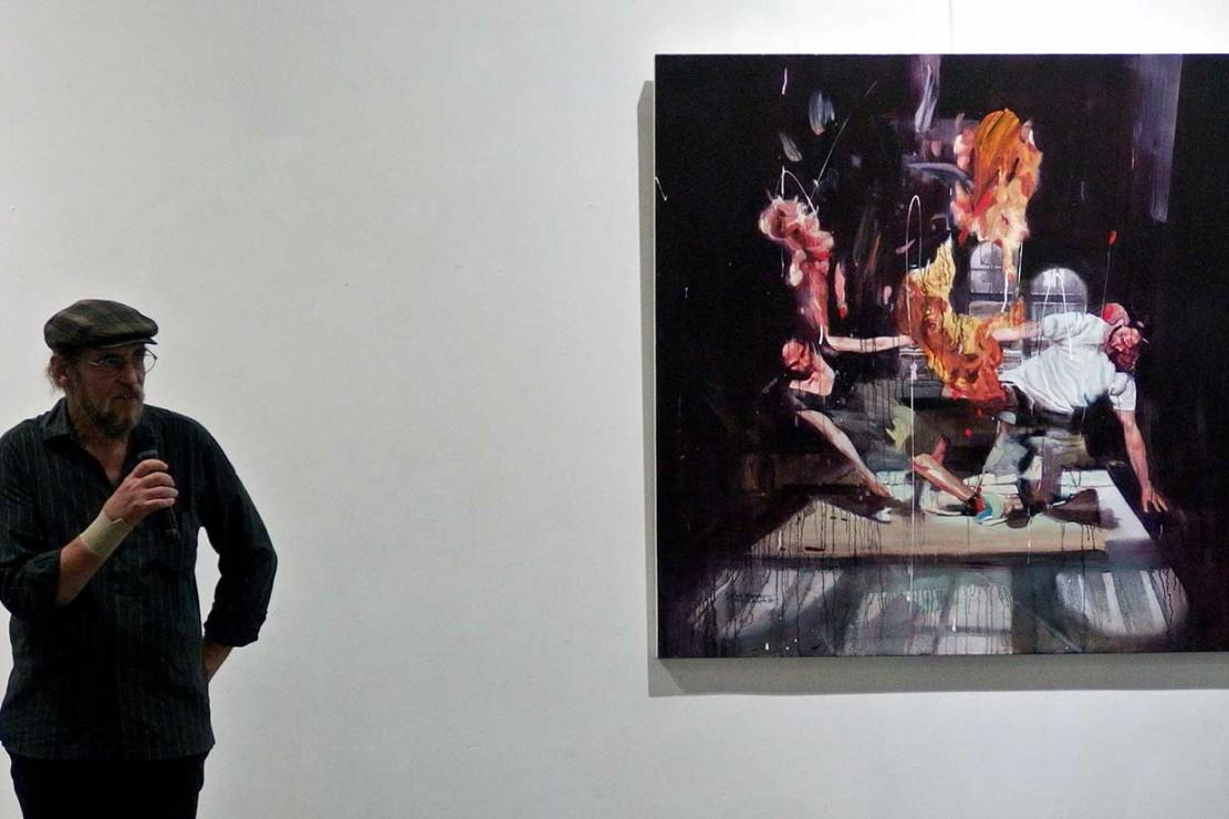 4 Perupa Gelar Pameran Lukisan di Galeri Semarang