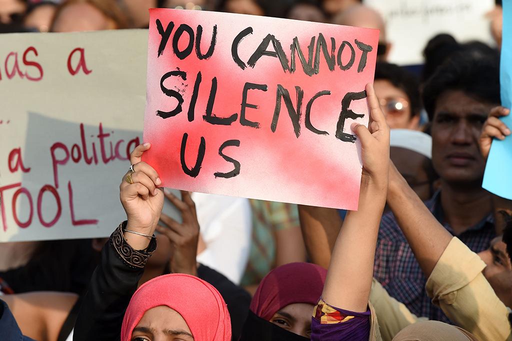 Warga India Gelar Demo Protes Maraknya Pemerkosaan Anak