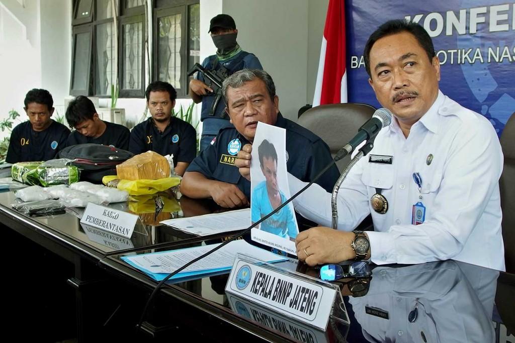 BNNP Jateng Tembak Mati Pengedar Sabu