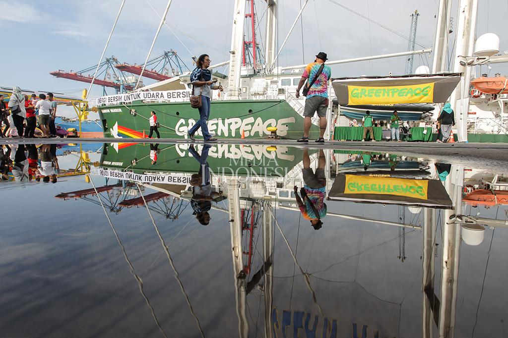 Kehadiran kapal yang sebelumnya telah berlayar dari Indonesia bagian timur selama hampir dua bulan tersebut semoga dapat mendorong pemerintah untuk segera mengatasi permasalahan lingkungan perkotaan secara tuntas mulai dari polusi udara, kendaraan bermotor, pembangkit listrik tenaga batu bara dan sampah. MI/PIUS ERLANGGA