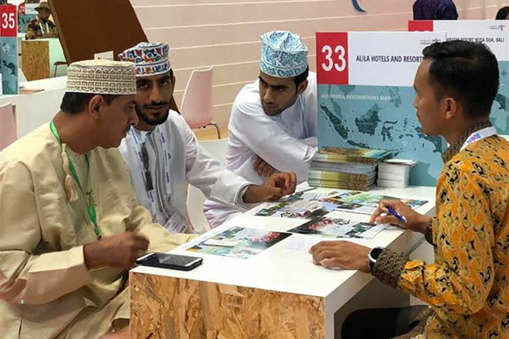 Transaksi Bisnis Pariwisata RI di ATM Dubai Raup Rp1 Triliun