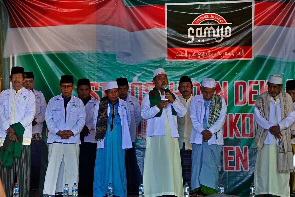 Samijo Dukung Jokowi di Pilpres 2019