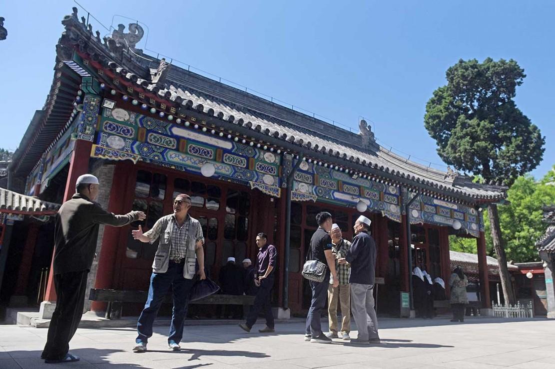 Megahnya Masjid Niujie Tiongkok
