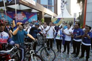 Dalam sambutannya, Erick mendukung penuh kegiatan sponsor yang sifatnya mendukung Asian Games. Apalagi ini sesuai dengan instruksi Presiden RI Joko Widodo yang meminta multievent negara-negara se-Asia itu bisa lebih terasa atmosfernya.