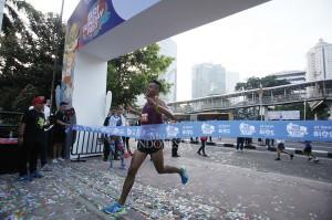 Sebanyak 1.000 pelari ikut andil dalam gelaran BRI Sunday Festival Road to Asian Games 2018.