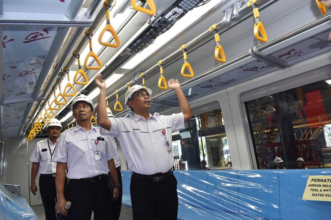 Inka Kerjakan Kereta LRT