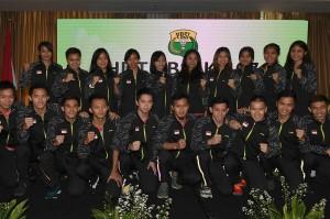 20 atlet yang terdiri dari 10 atlet putra dan 10 atlet putri tersebut dilepas untuk bertanding pada perhelatan Piala Thomas & Uber 2018, di Bangkok, Thailand pada 20-27 Mei mendatang.