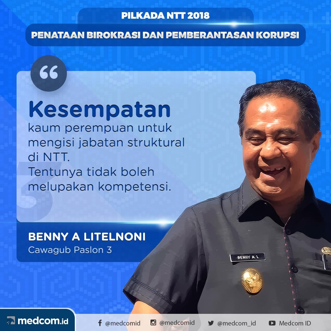Debat Pilkada 2018: Nusa Tenggara Timur, Pasangan Calon Nomor Urut 3