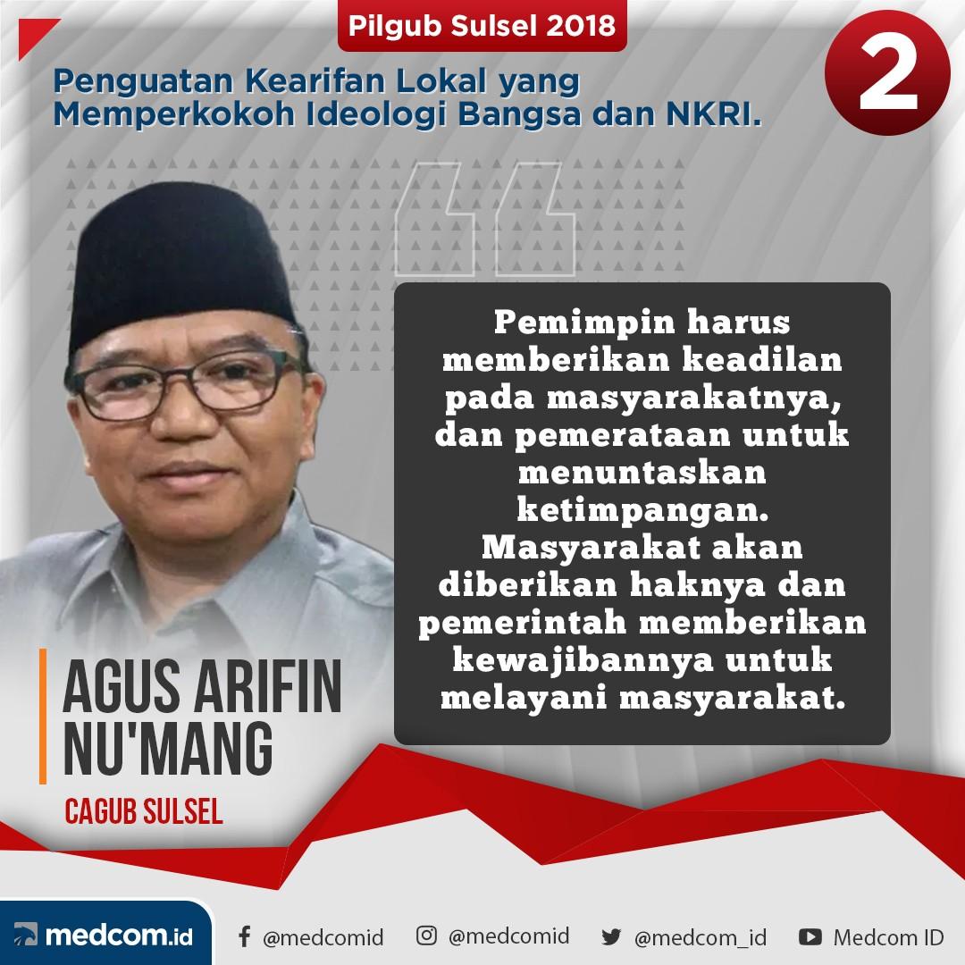 Debat Pilkada 2018 - Sulawesi Selatan, Pasangan Nomor Urut 2
