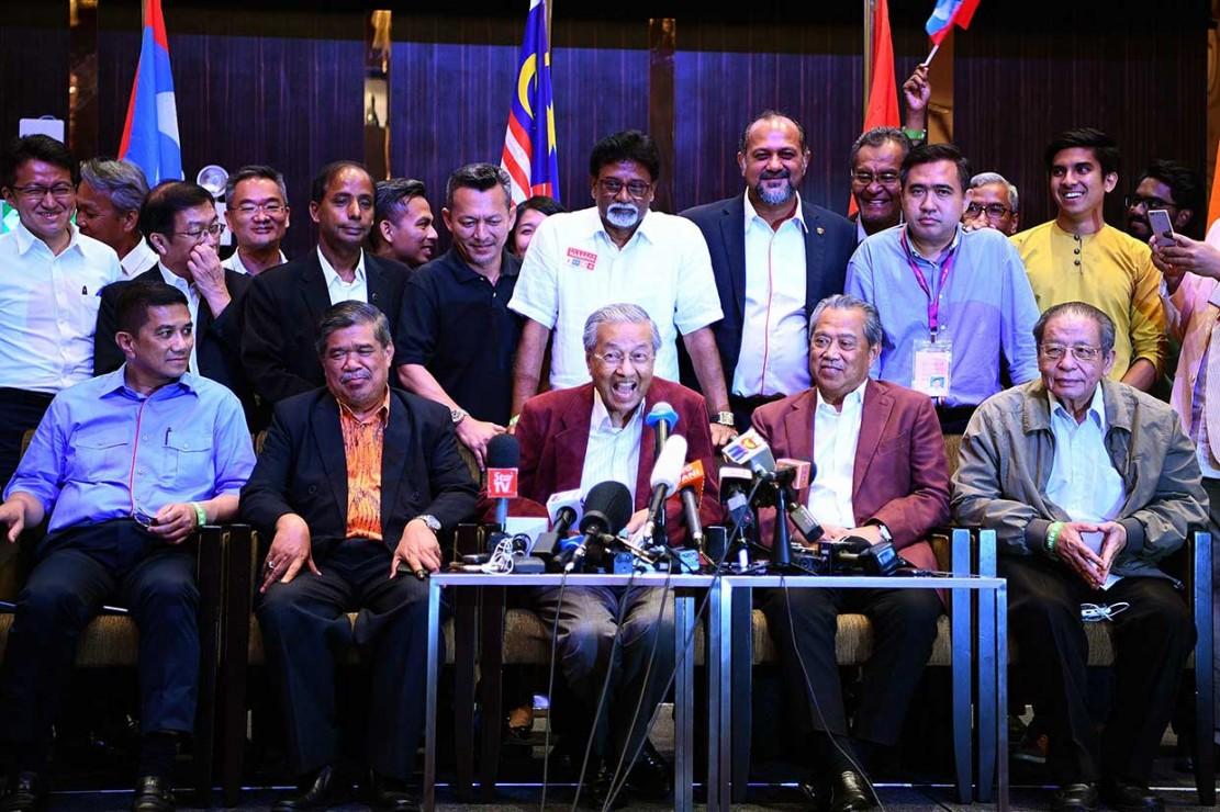 Mahathir Menangi Pemilu Malaysia