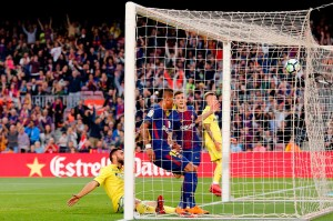 Gelandang Paulinho menggandakan keunggulan timnya lima menit berselang, menyelesaikan uman tarik Lucas Digne dari sisi kiri pertahanan Villarreal.