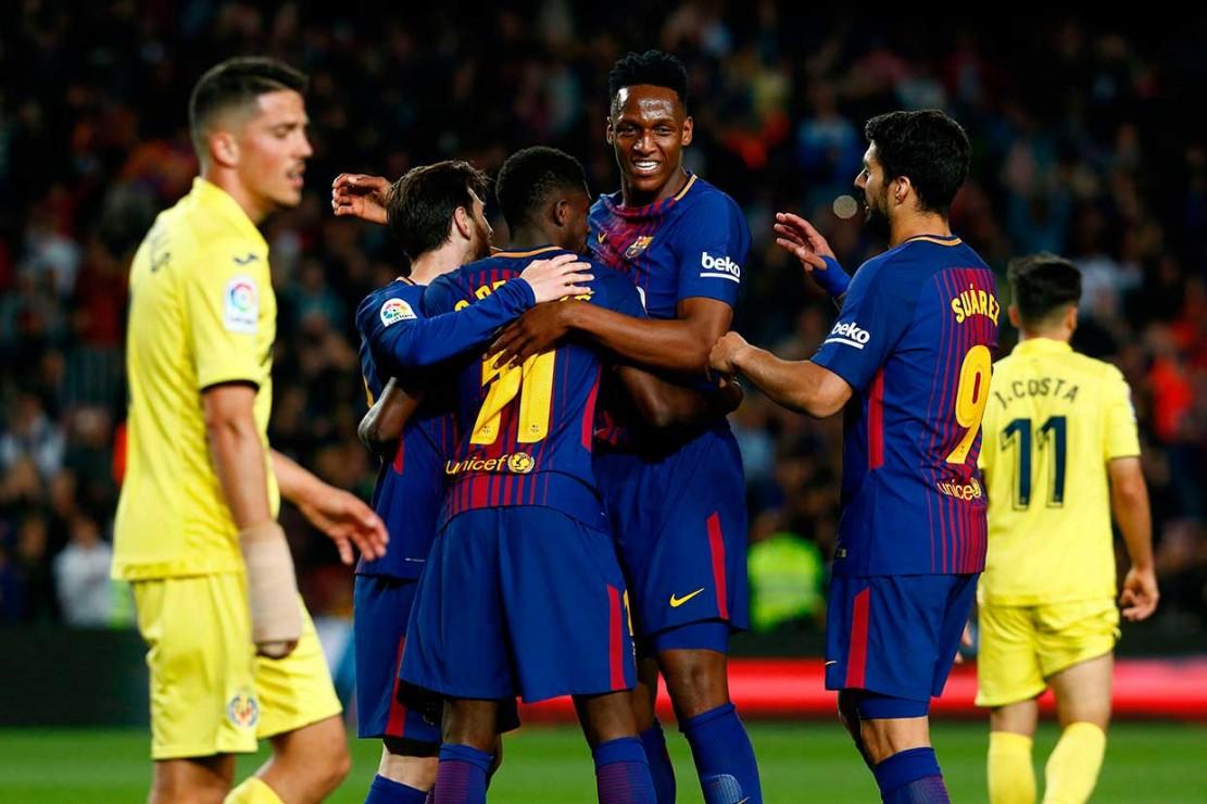 Barca Lumat Villarreal 5-1