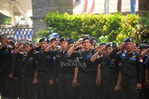 Apel siaga nasional yang diikuti 1500 kader tersebut digelar untuk melawan aksi terorisme dan radikalisme yang menelan korban jiwa aparat maupun sipil.