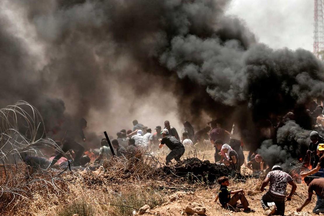 Protes Pembukaan Kedubes AS di Jerusalem, 55 Warga Palestina Tewas